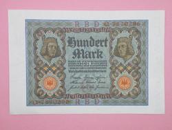 KK1156 1920 100 mark németország bankjegy hundert mark