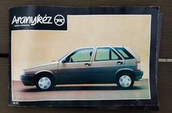 Aranykéz retro autós újság