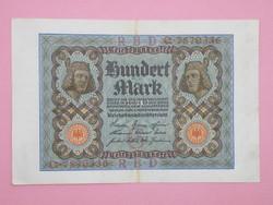 KK1157 1920 100 mark németország bankjegy hundert mark
