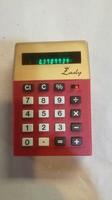 Ritka Triumph Lady számológép