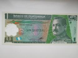 Guatemala 1 qutzales 2012 UNC  Polymer