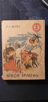 H.E. Bates  Bíbor sivatag - antik könyv 1963 -as