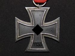 """Német 2. VH Vaskereszt Iron Cross / Eisernes Kreuz EK 2 Eisernes Kreuz Otto Schickle  """" L/15 """" 1939"""