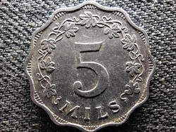 Málta 5 mil 1972 (id47994)