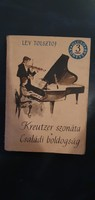 Lev Tolsztoy Kreutzer Szonáta * Családi boldogság - antik könyv 1964 -os