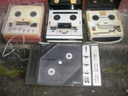 4 darabos retro szalagos magnetofon csomag