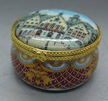 B316 Gyönyörű Reutter porcelán bonbonier -  hibátlan gyűjtői darab