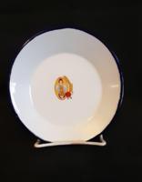 Zománcozott kis tányér