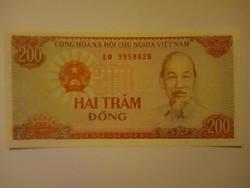 Unc 200 Dong Vietnám  1987  !!