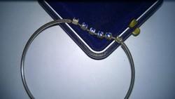 Kék köves karkötő-karcsat-karpánt 925-ös