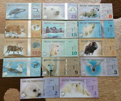 14db Arctic polimer dollár lot