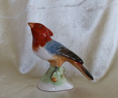 Porcelán madár -antik