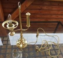 Régi különleges asztali lámpa - búra nélkül