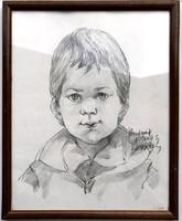 Egy kisfiú portréja