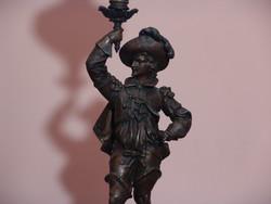 Francia  figurális petróleum lámpa  . késztette FRONDEUR