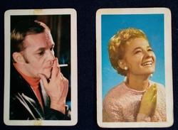 1970-es kártyanaptárak; Törőcsik Mari, Darvas Iván