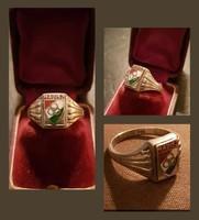 (MADISZ) Ezüst pecsétgyűrű.