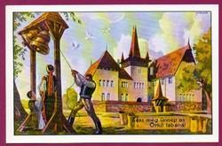*E - 0029 - - - Irredenta (reprint) képeslap - Sepsiszentgyörgy, Székely Nemzeti Múzeum