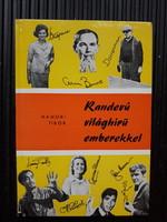 Retro midcentury könyv érdekesség: Kik látogattak el Budapestre a 60-as években?