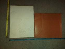 2 könyv, Braille-írással, sajnos semmilyen adatom nincs róluk, az MVGYOSZ számlaszámra kérek utalni!
