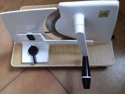 Retro kézi konyhai szeletelőgép
