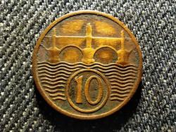 Csehszlovákia 10 heller 1937 (id25949)