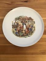 Colditz Hófehérke és a 7 törpe - mese figurás tányér