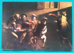 Caravaggio: Szent Máté elhívatása,postatiszta