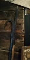 Tűzoltósági bontó szerszám, tetőbontó csáklya