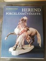 Herend porcelánművészete 1984-es könyv
