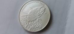 2014 Tokelau ezüst 31,1 gramm 0,999 Ritkább