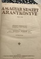 EREDETI 1921-es Magyar Nemzet Aranykönyve!!!