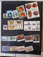 USA Postatiszta emlékbélyeg gyűjtemény.
