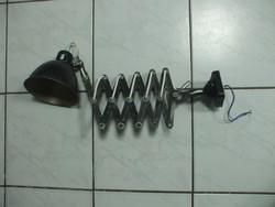 Ipari lámpa, gyári, harmonika műhelylámpa