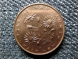 Man-sziget II. Erzsébet 1/2 Új penny 1971 (id48640)