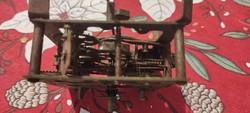 Óra szerkezet falióra Asztali óra, Junghans.Feles ütős