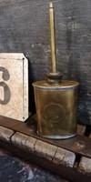 Réz kis olajozó eszköz, ipari, dekoráció