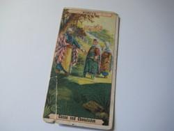 KORFSS  Cacao und Chocoladen    beragasztható album reklám képe  1930 évekből