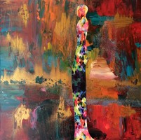 """""""Essence"""" 70x70cm Dutch catalog of works, direct from the artist!"""