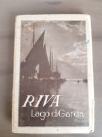 Garda Tó leporelló képeslap sorozat, 12 képpel