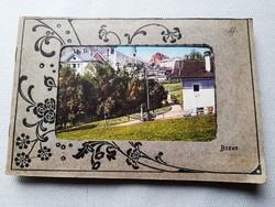 Antik osztrák képeslap album 12 db. képeslappal / 1910-es évek első fele