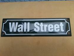 Wall Street zomànc tábla