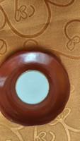 Zsolnay kávés alatet tányér