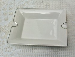 Hófehér porcelán hamus vagy asztaldíszhez tálka, nagyméretű