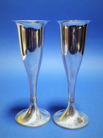 Ezüst vázák 2 darab