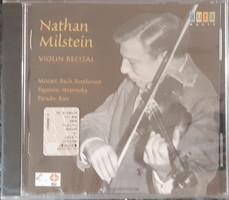 NATHAN MILSTEIN VIOLIN RECITAL     CD