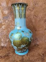 Gyönyörű Antik Zsolnay eozin váza, Zsolnay Júlia terve