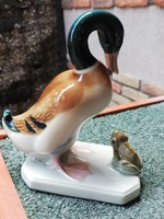Royal dux kacsa és a béka