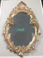 Barokk florentin tükör falikarral