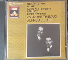 JACQUES THIBAUD HEGEDŰ -  ALFRED CORTOT ZONGORA    CD